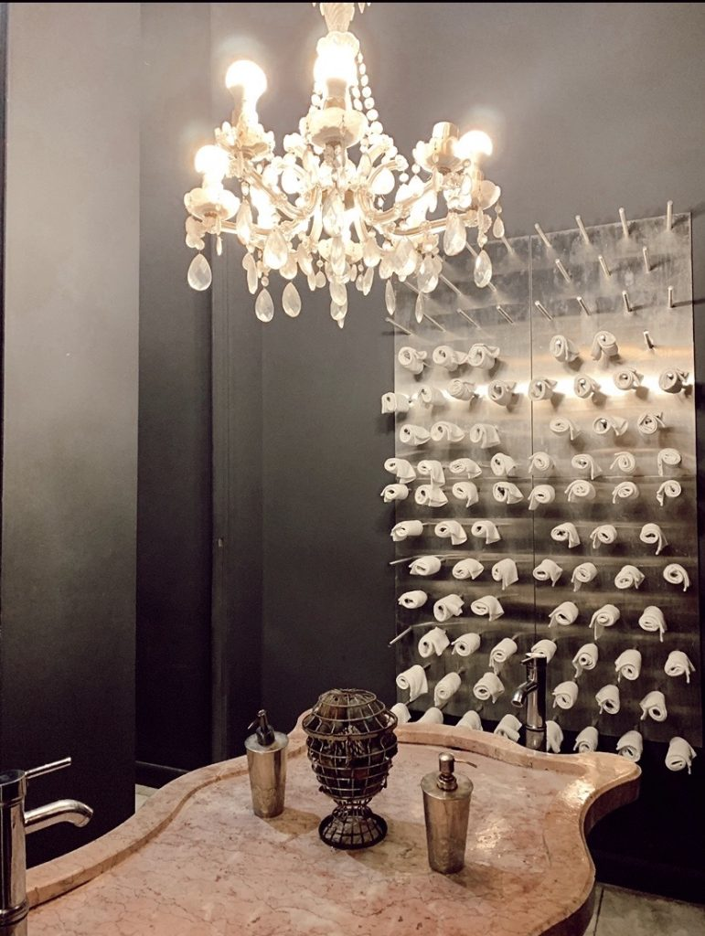 La Guarida Bathrooms in Havana Cuba