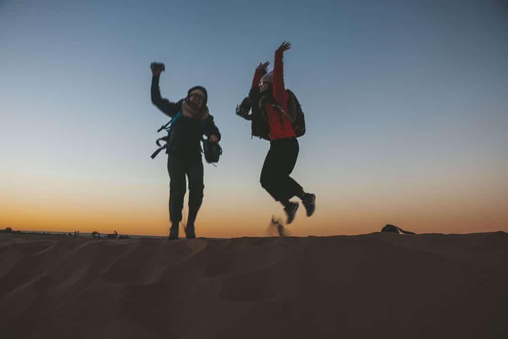 Sahara hoorahs!