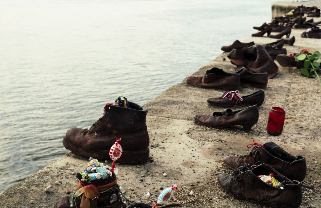 Budapest - shoes on the Danube