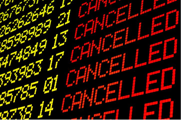 Coronavirus flight cancellations