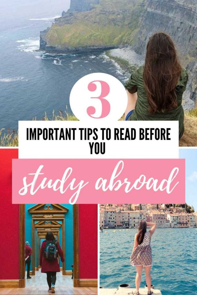 3 Study Abroad Tips