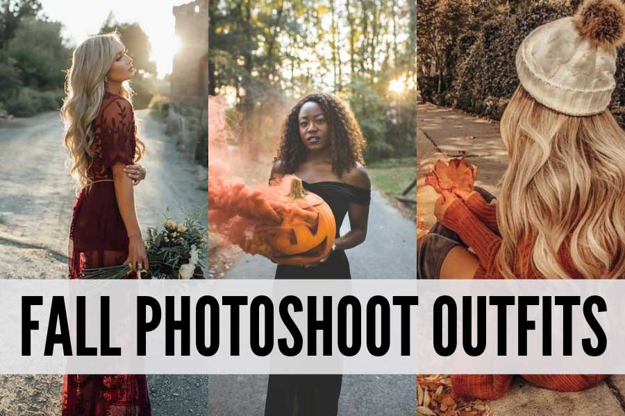 fall photoshoot outfits