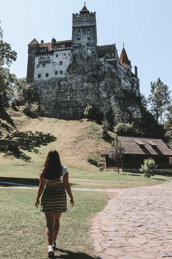 getting to the dracula castle from brasov