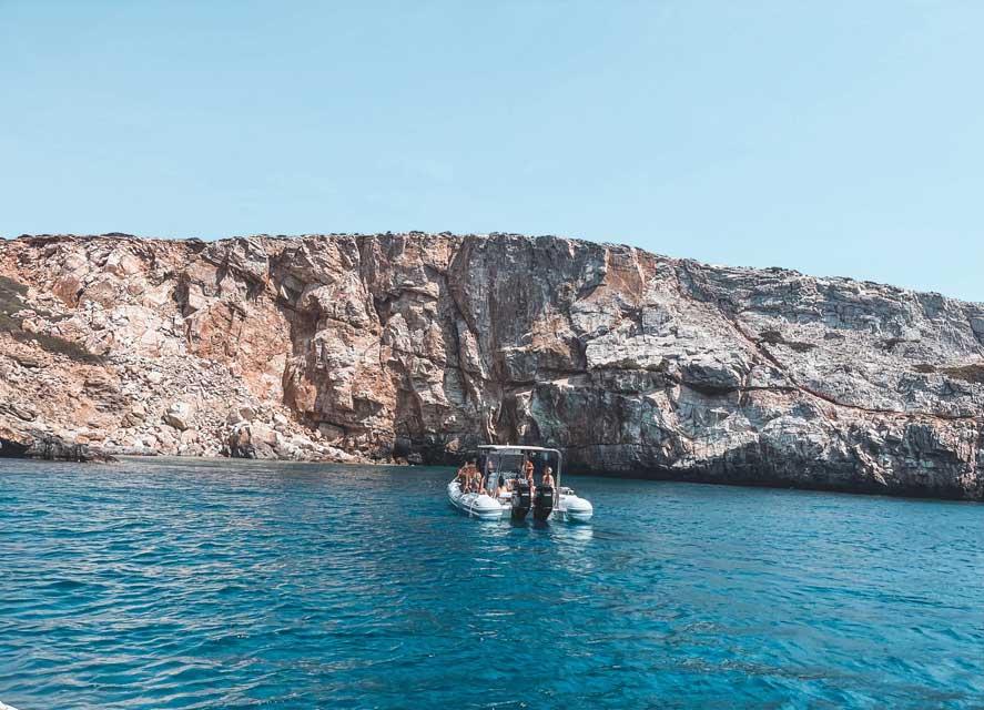 boat tours ios greece