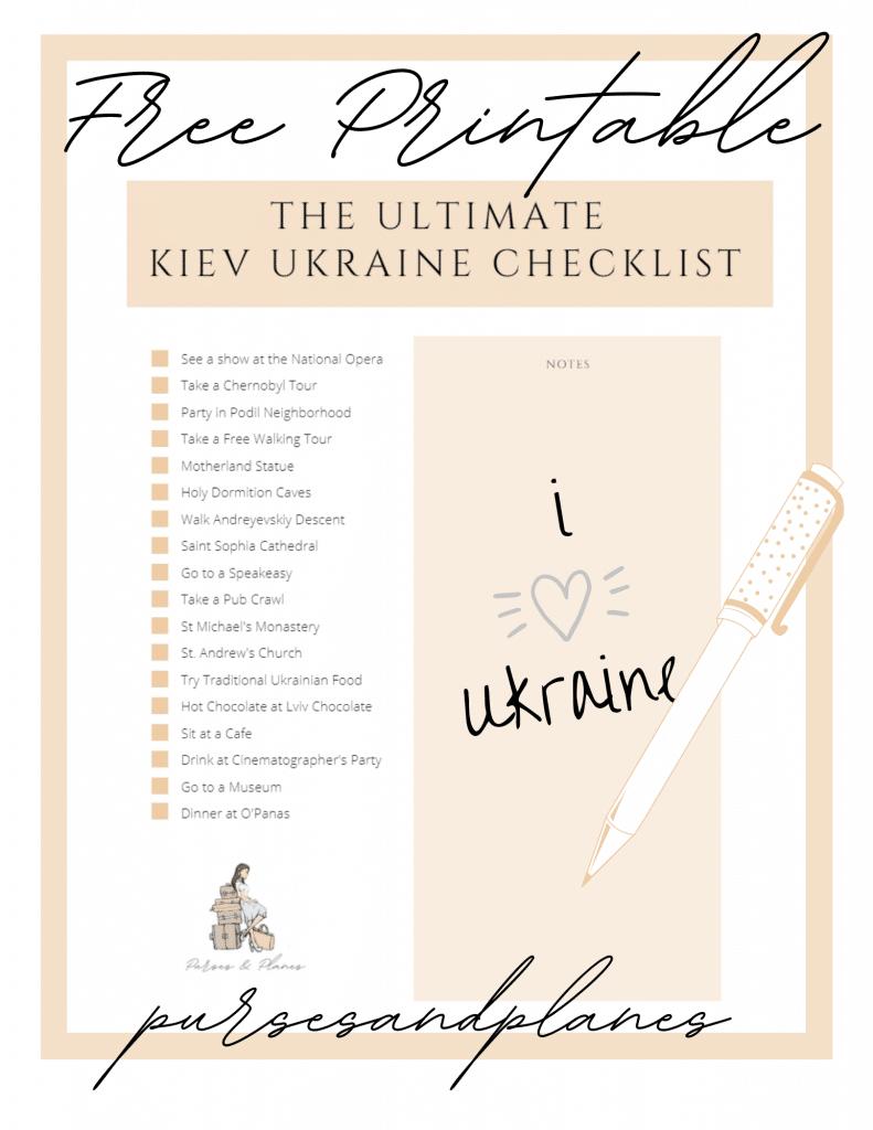 best things to do Kiev